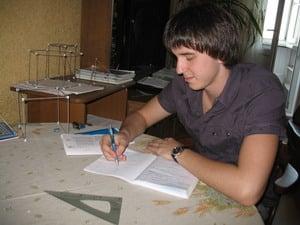 Глеб, ученик репетитора по математике