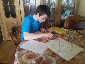Ученик репетитора по математике - Тимофей