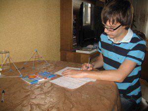 Дима, ученик репетитора по математике