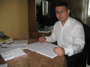Максим, ученик репетитора по математике
