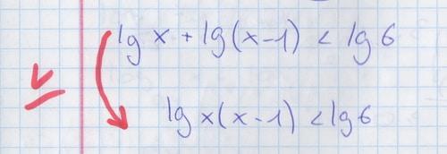 Как репетитор по математике указывает на потерю равносильности