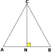 Равнобедренный треугольник для задачи B4