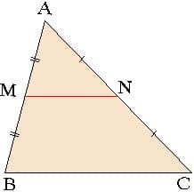 Cредняя линия в треугольнике