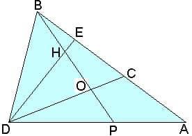 Методики репетитора по математике. Развитие навыков записи теоремы Менелая.