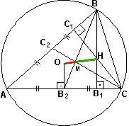 Справочник репетитора по математике. Замечательные точки треугольника
