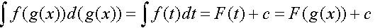 Репетитор по математике оy-лайн. Техника интегрирования при замене переменной