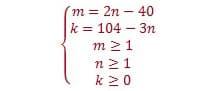 Окончательная система для решения задачи С6 на ЕГЭ по математике