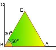 Математика древнего Вавилона. Деление прямого угла на 3 части