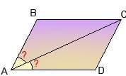 Неудачный рисунок параллелограмма