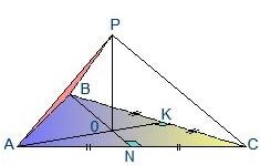 Пирамида уголком от нас
