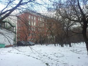 Курчатовская школа вид сзади