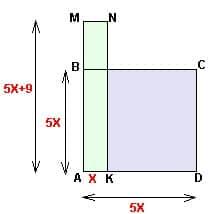 Cхема репетитора по математике к задаче про квадрат