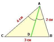 Подготовка к ЕГЭ по математике: задача 2 теста №1. Поиск биссектрисы