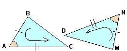 Как репетиитор по математике учит обозначать треугольники