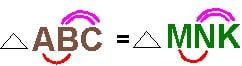 Как репетитор по математике выделяет соответствующие стороны