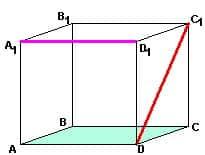 Как репетитор по математике показывает скрещивающиеся прямые