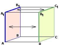 Как репетитор по математике иллюстрирует признак параллельности плоскостей