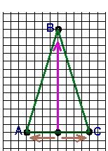 окончательный рисунок треугольника