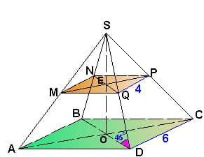 Как репетитор по математике изображает усеченную пирамиду