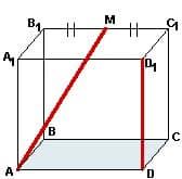 Материалы репетитора по математике - углы в кубе. Задача 2