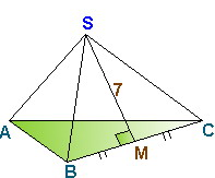 Пирамида. Рисунок репетитора по математике для Татьяны