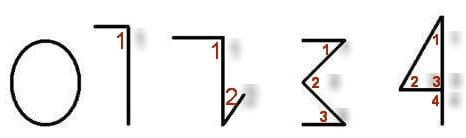 Как репетитор по математике показывает углы