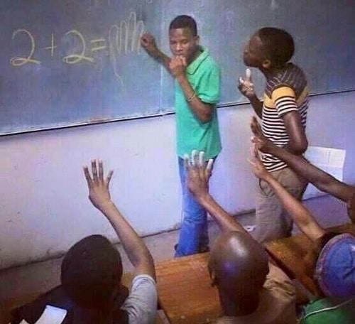 Африканская математика (без репетитора)
