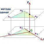 Какую систему координат рекомендует репетитор по математике для призмы