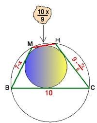 Завершающий этап решения репетитора - рисунок для составления уравнения