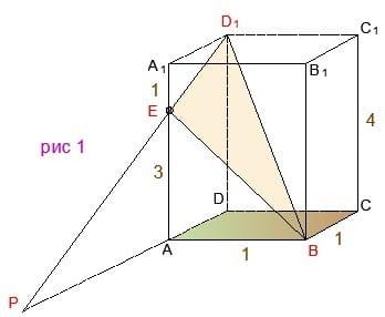 Как репетитор по математике строит линейный угол. Этап 1