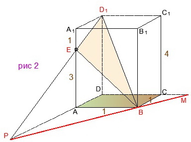Как репетитор по математике строит линию пересечения плоскостей