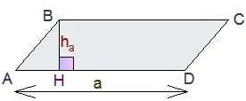 Подготовка к ЕГЭ по математике - площадь произвольного параллелограмма