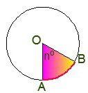 Рисунок репетитора для формулы площади сектора